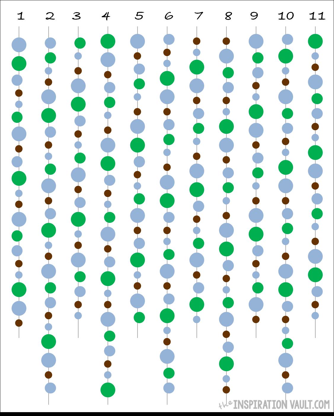 Circle Garland Pattern