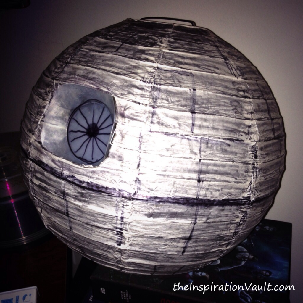 Star wars themed diy party death star decoration the for Star wars dekoration