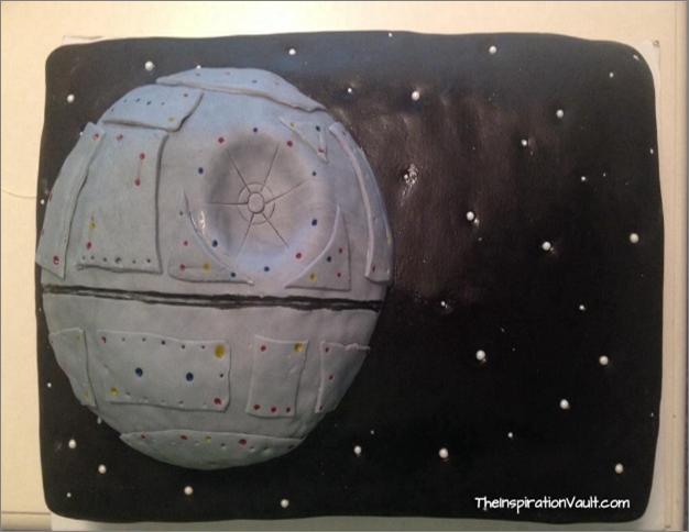 Star Wars Party Death Star Cake