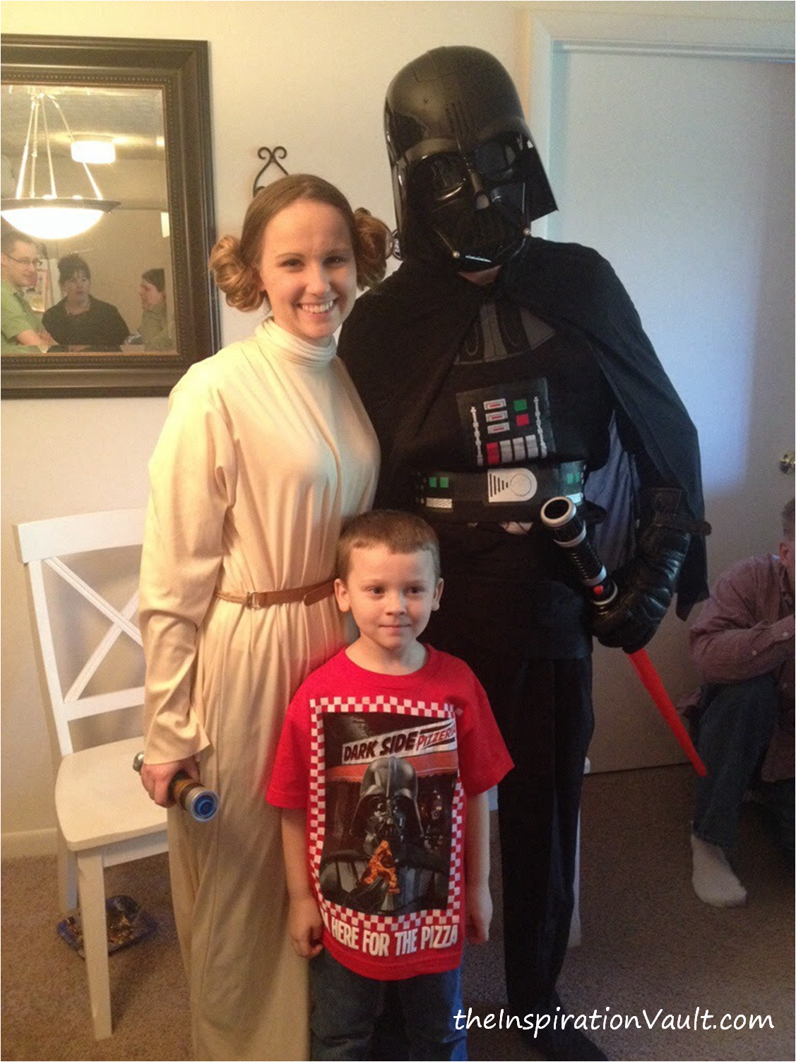 Star Wars Party Family Pic New