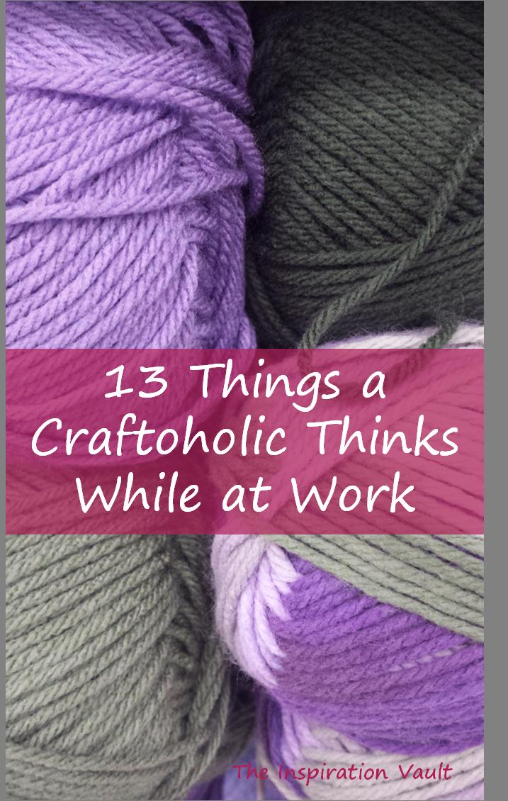 Craftoholic Thoughts Article Pinterest