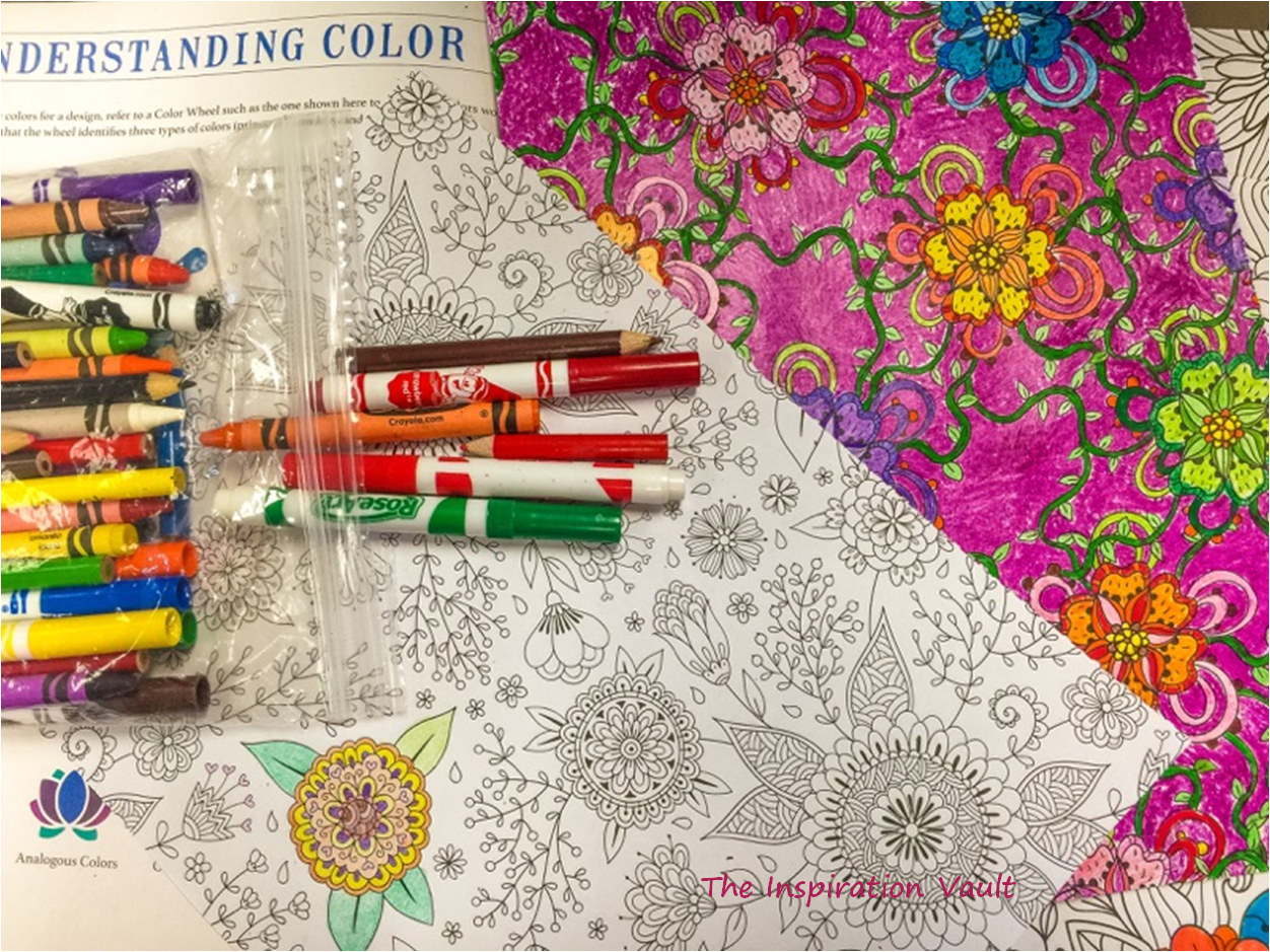 Craftoholic Thoughts Coloring