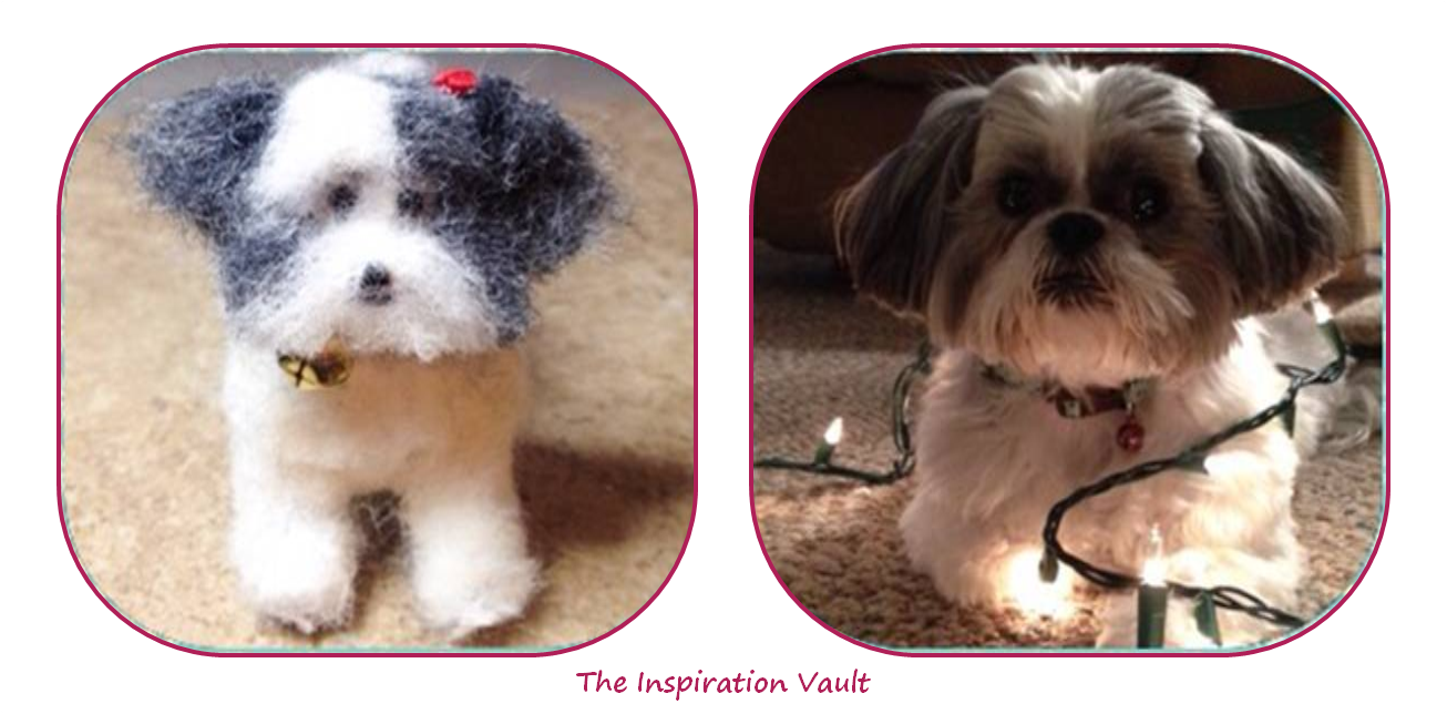 Polymer Shih Tzu Dog Comparison