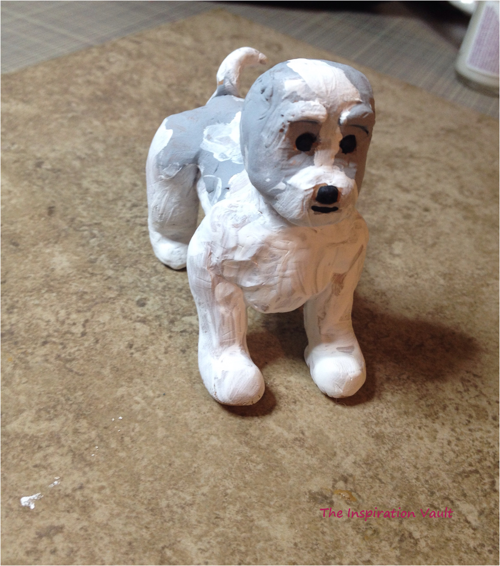 Polymer Shih Tzu Dog Step 5