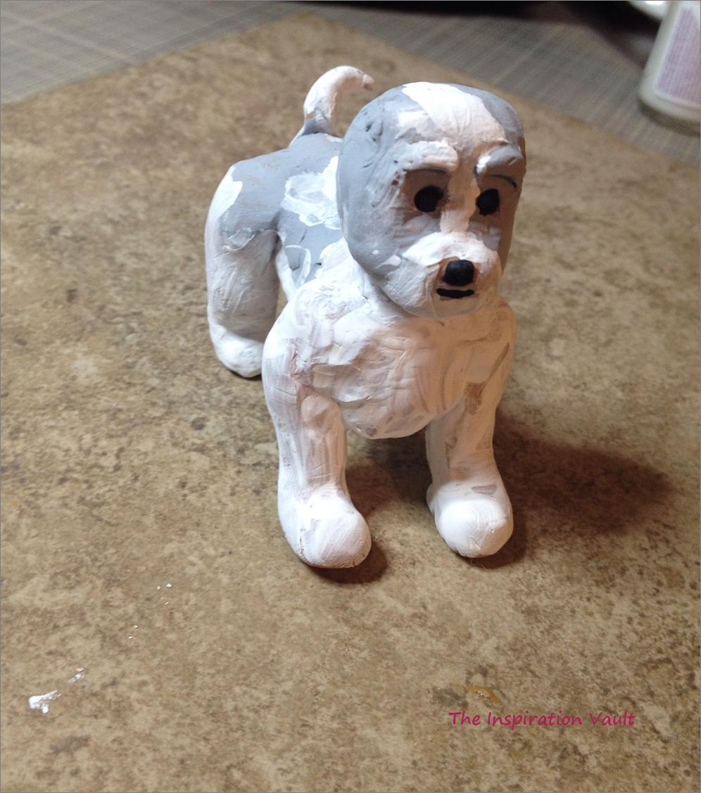 Polymer Shih Tzu Dog Step 5