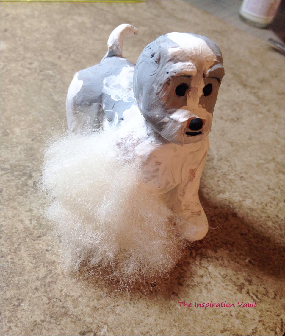Polymer Shih Tzu Dog Step 6