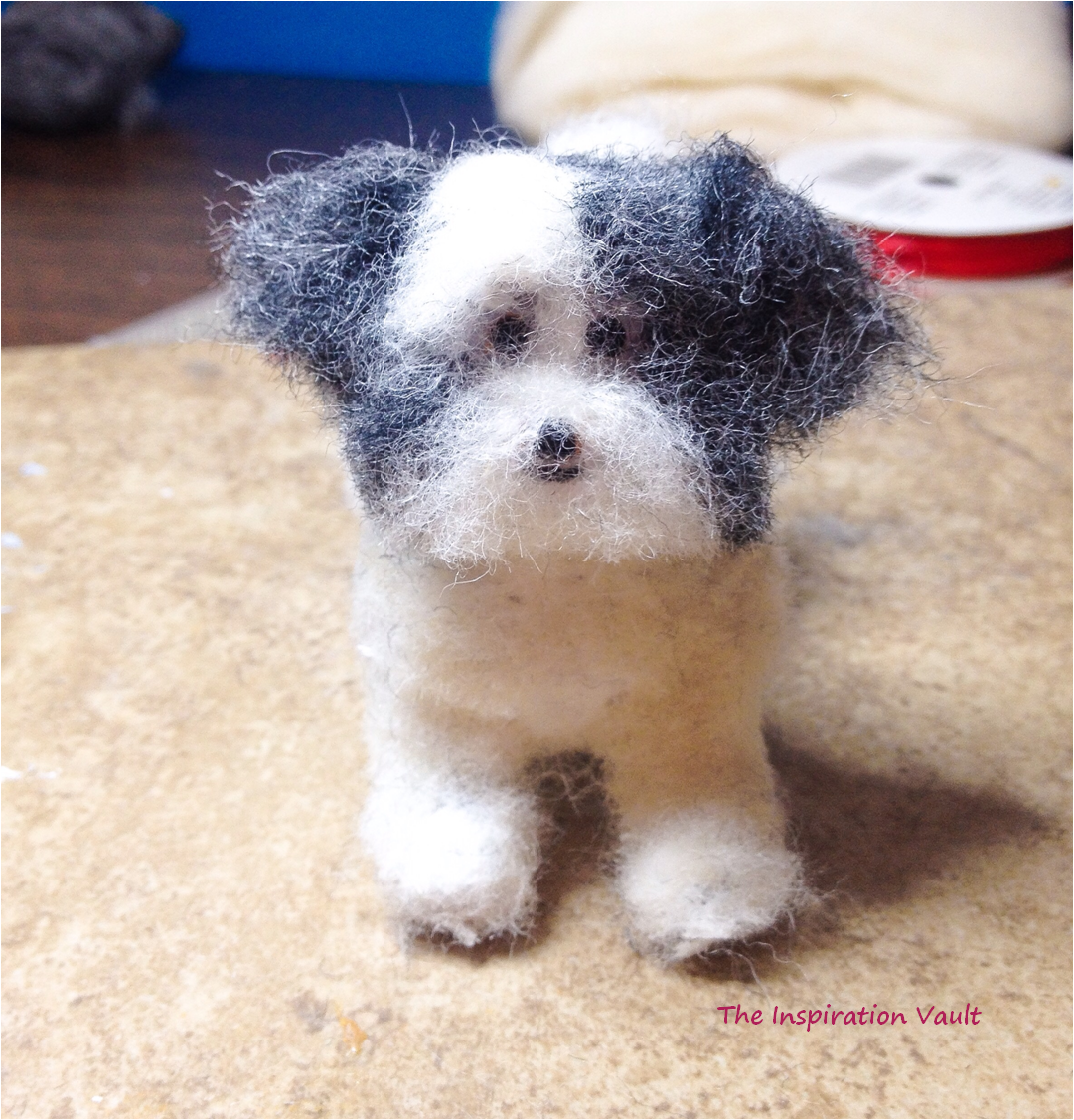 Polymer Shih Tzu Dog Step 8
