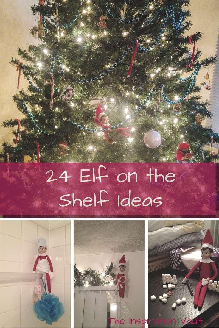 24 Elf on the Shelf Ideas for Christmas
