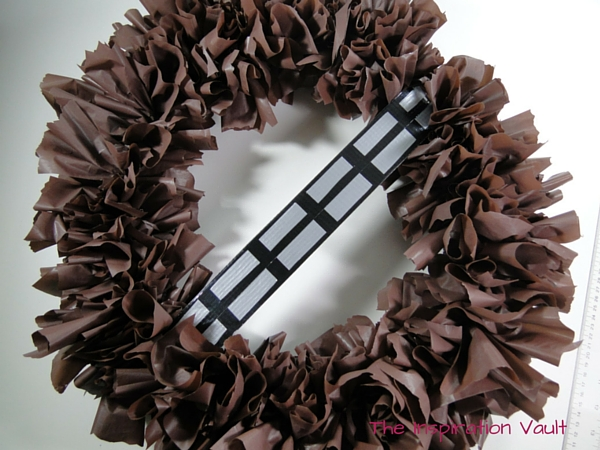Chewbacca Wookie Wreath Complete