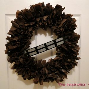Chewbacca Wookie Wreath Tutorial Feature