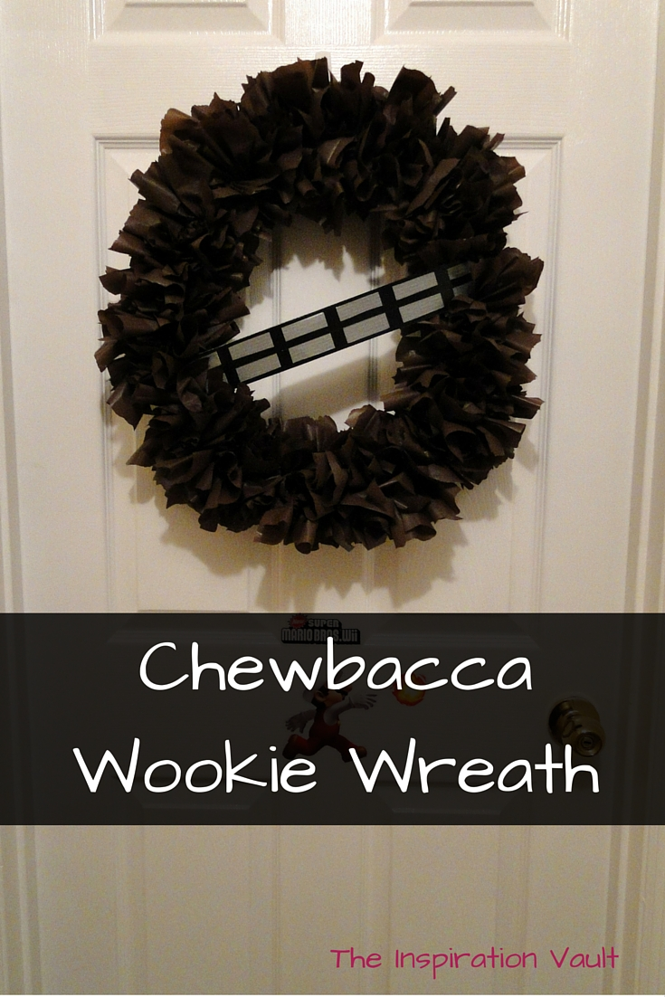 Chewbacca Wookie Wreath Tutorial Star Wars Craft