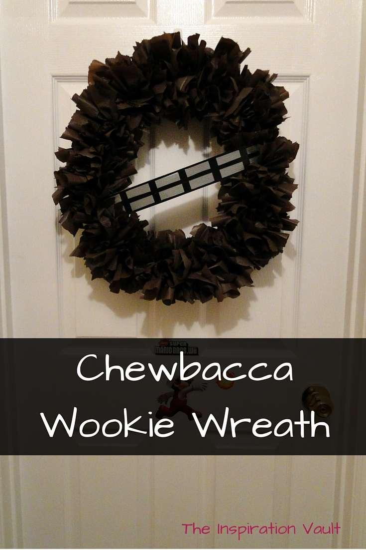 Chewbacca Wookie Wreath Tutorial Star Wars Craft