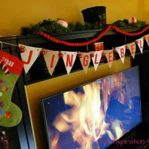 Jingle Bells Pennant Banner Christmas Craft