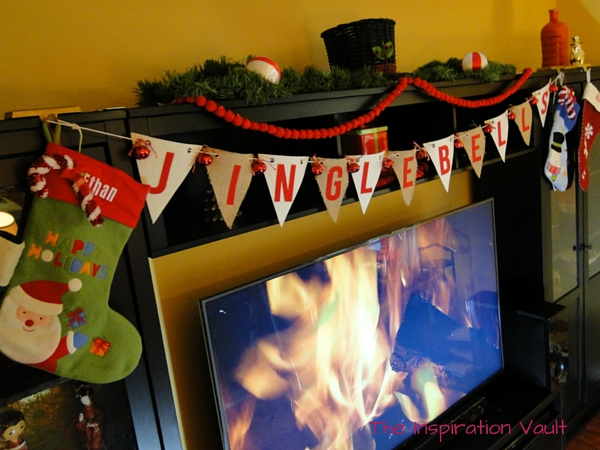 Jingle Bells Pennant Banner Christmas Craft