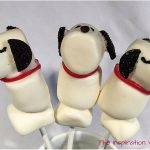 Snoopy Marshmallow Pops