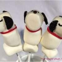 Snoopy Marshmallow Pops Tutorial Peanuts Party