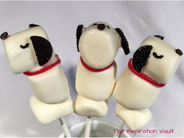 Snoopy Marshmallow Pops Tutorial Peanuts Party