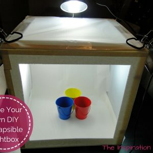 DIY Collapsible Lightbox Feature