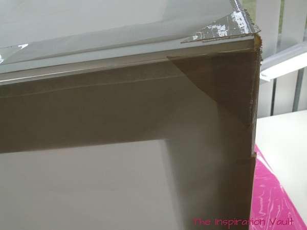 DIY Collapsible Lightbox Step 12b