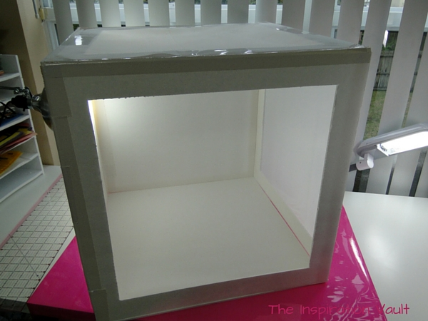 DIY Collapsible Lightbox Step 12d