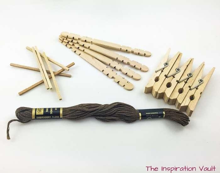 Mini Bow and Arrow Materials