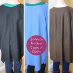 5-Minute No-Sew Capes/ Cloaks