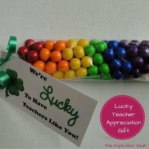 Lucky Teacher Appreciation Gift Feature