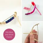 Mini Bow and Arrow Favors