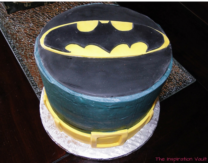 Batman Party Cake 1