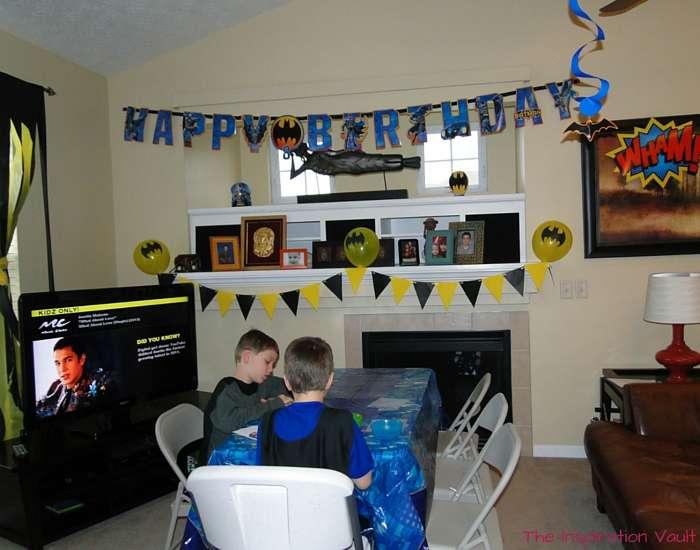 Batman Party Decorations 2