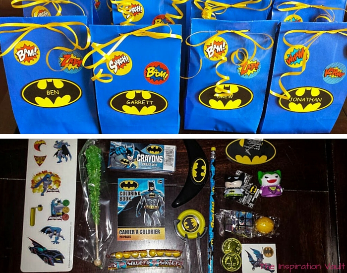 Batman Party Favors 2
