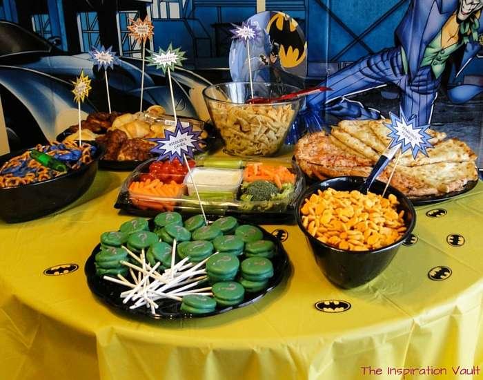 Batman Party Food 1