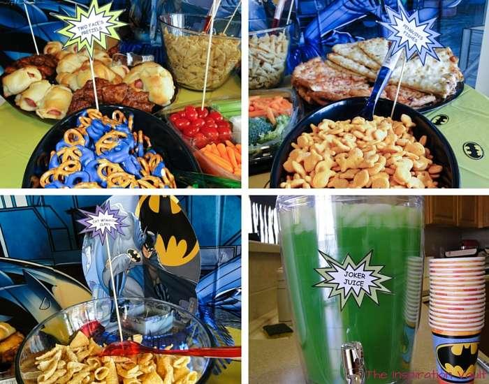 Batman Party Food 2