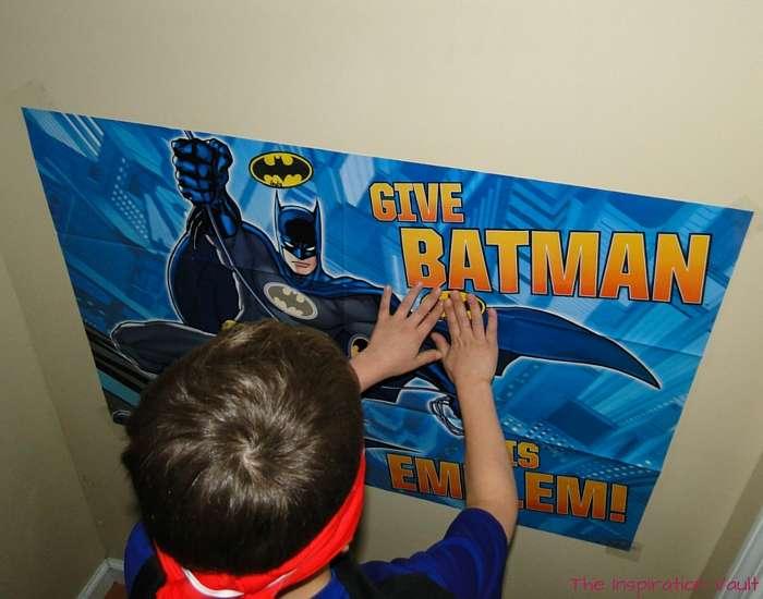Batman Party Games 1