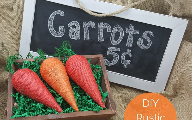 DIY Rustic Carrots Feature