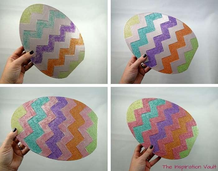 Glittered Easter Egg Decoration Step 4