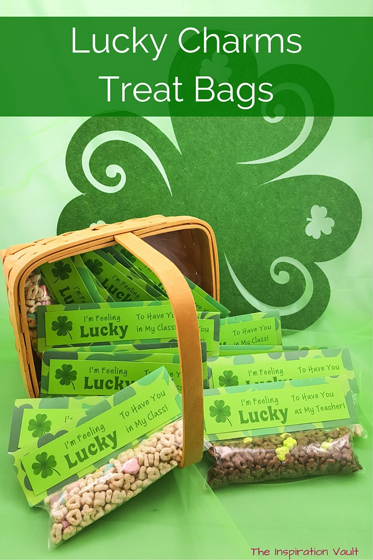 Lucky Charms Treat Bags Craft Tutorial St Patrick's Day
