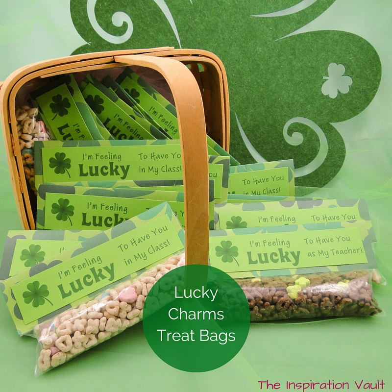 Lucky Charms Treat Bags Feature