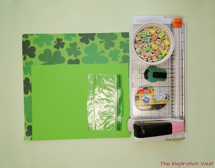 Lucky Charms Treat Bags Materials