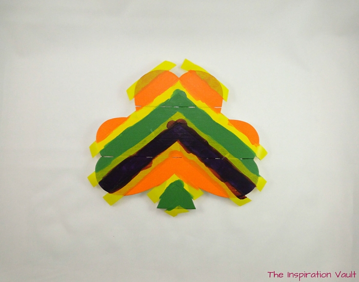 Rainbow Shamrock Decoration Step 8a