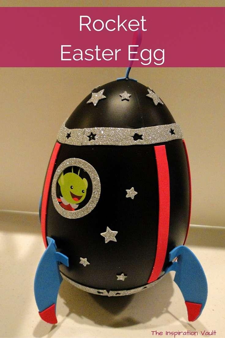 Rocket Easter Egg Craft