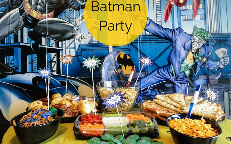 Batman Party Feature