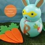 Superbunny Easter Kids Craft