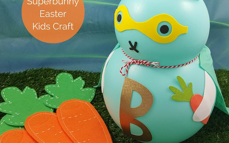Superbunny Easter Kids Craft Feature