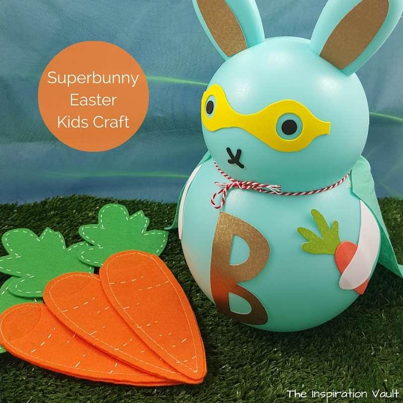Superbunny Easter Kids Craft Feature
