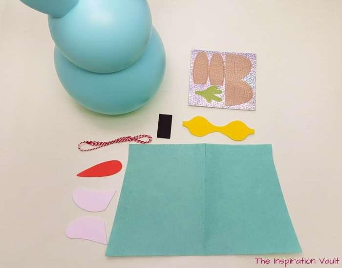 Superbunny Easter Kids Craft Materials