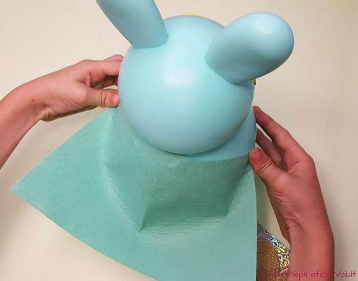 Superbunny Easter Kids Craft Step 3