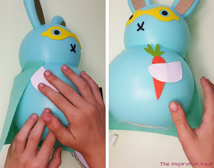 Superbunny Easter Kids Craft Step 4
