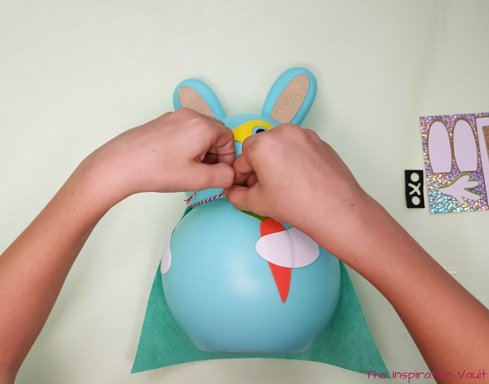 Superbunny Easter Kids Craft Step 5