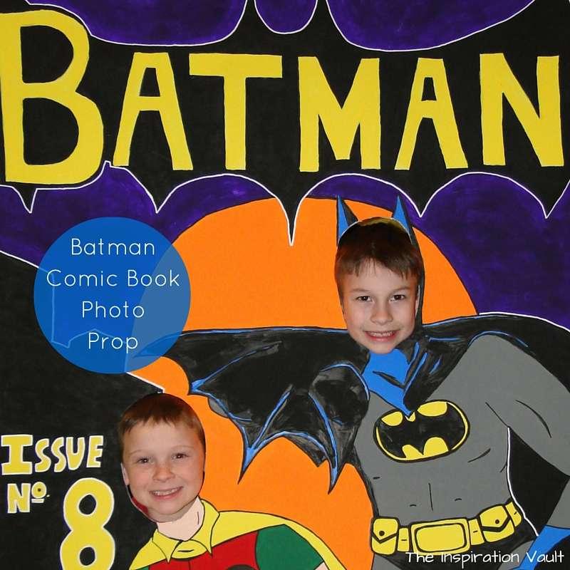 Batman Comic Book Photo Prop Feature